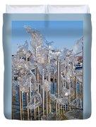 Abstract Glass Art Sculpture Duvet Cover