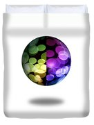 Abstract Globe Duvet Cover