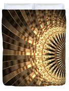 Abstract Gold Series 1 Duvet Cover