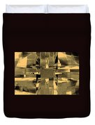Abstract Halftone  Duvet Cover