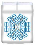 Abstract Hexagonal Shape Duvet Cover