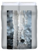 Abstract Icicles I Duvet Cover