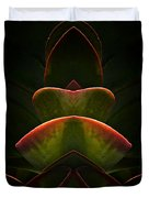 Nature In Abstract Succulent Plant 1 Duvet Cover