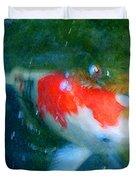 Abstract Koi 3 Duvet Cover