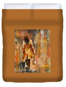 Abstract Lady  5 Duvet Cover