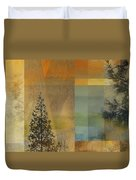 Abstract Landscape One Duvet Cover