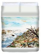 Abstract Landscape Untitled Duvet Cover