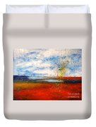 Abstract Lanscape Duvet Cover