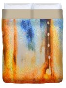 Abstract Lift Off  Duvet Cover by Pixel Chimp