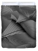 Abstract - Lines - Path To Destruction Duvet Cover