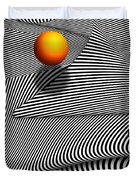 Abstract - Lines - That's A Moire Duvet Cover