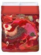Abstract - Nail Polish - Love Duvet Cover