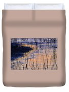 Abstract Nature At Sunset Duvet Cover