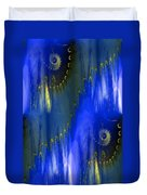 Abstract Nautilus Duvet Cover