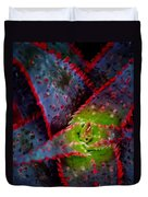 Abstract Of Bromeliad Duvet Cover