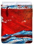 Abstract Original Artwork One Hundred Phoenixes Untitled Number Three Duvet Cover