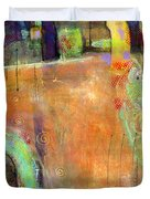Abstract Painting Simple Pleasure Duvet Cover
