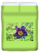 Abstract Peonies Duvet Cover