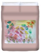 Abstract Petals Duvet Cover