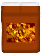 Abstract Plants Duvet Cover