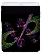 Abstract Psychedelic Modern Art Duvet Cover