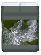 Abstract Rain Glitter Duvet Cover