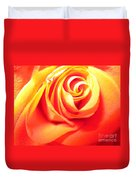 Abstract Rose 2 Duvet Cover