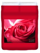Abstract Rose 4 Duvet Cover