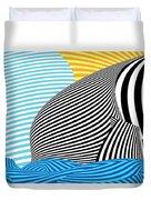 Abstract - Sailing Duvet Cover