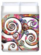 Abstract - Spirals - Wonderland Duvet Cover