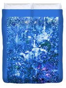 Abstract Splashing Water Duvet Cover