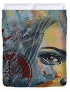 Abstract Tarot Art 022a Duvet Cover