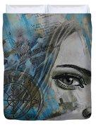 Abstract Tarot Art 022c Duvet Cover