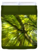 Abstract Trees Duvet Cover