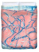 Abstract Us Duvet Cover