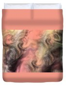 Abstract Watercolor And Ink Digital Painting Duvet Cover
