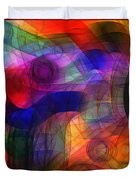 Abstract Watercolor Duvet Cover