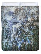 Abstract Winter Landscape Duvet Cover