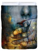 Abstract Woman 011 Duvet Cover