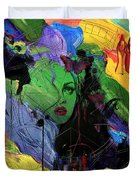 Abstract Women 014 Duvet Cover