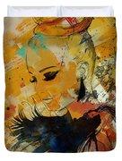 Abstract Women 010 Duvet Cover