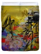 Abstract Women 016 Duvet Cover