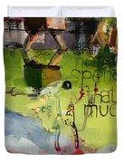 Abstract Women 023 Duvet Cover