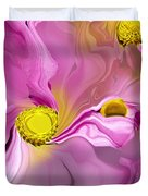 Abstracted Pink Duvet Cover