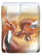 Abstraction 0123 - Marucii Duvet Cover