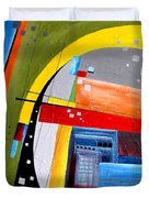 Abstraction 0468 Marucii Duvet Cover