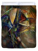 Abstraction 0497 Marucii Duvet Cover