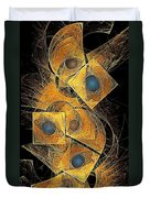 Abstraction 207-03-13  Marucii Duvet Cover