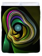 Abstraction 259-06-13 Marucii Duvet Cover