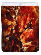 Abstraction  272 - Marucii Duvet Cover